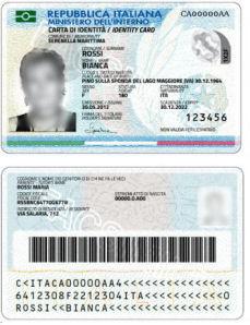 Carta d\'identità elettronica (CIE) - Comune di Vicenza