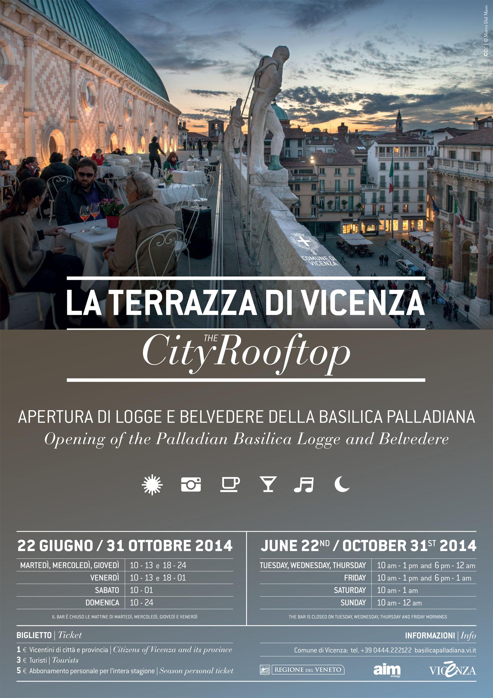 Riapre fino a tarda sera la terrazza della Basilica Palladiana ...