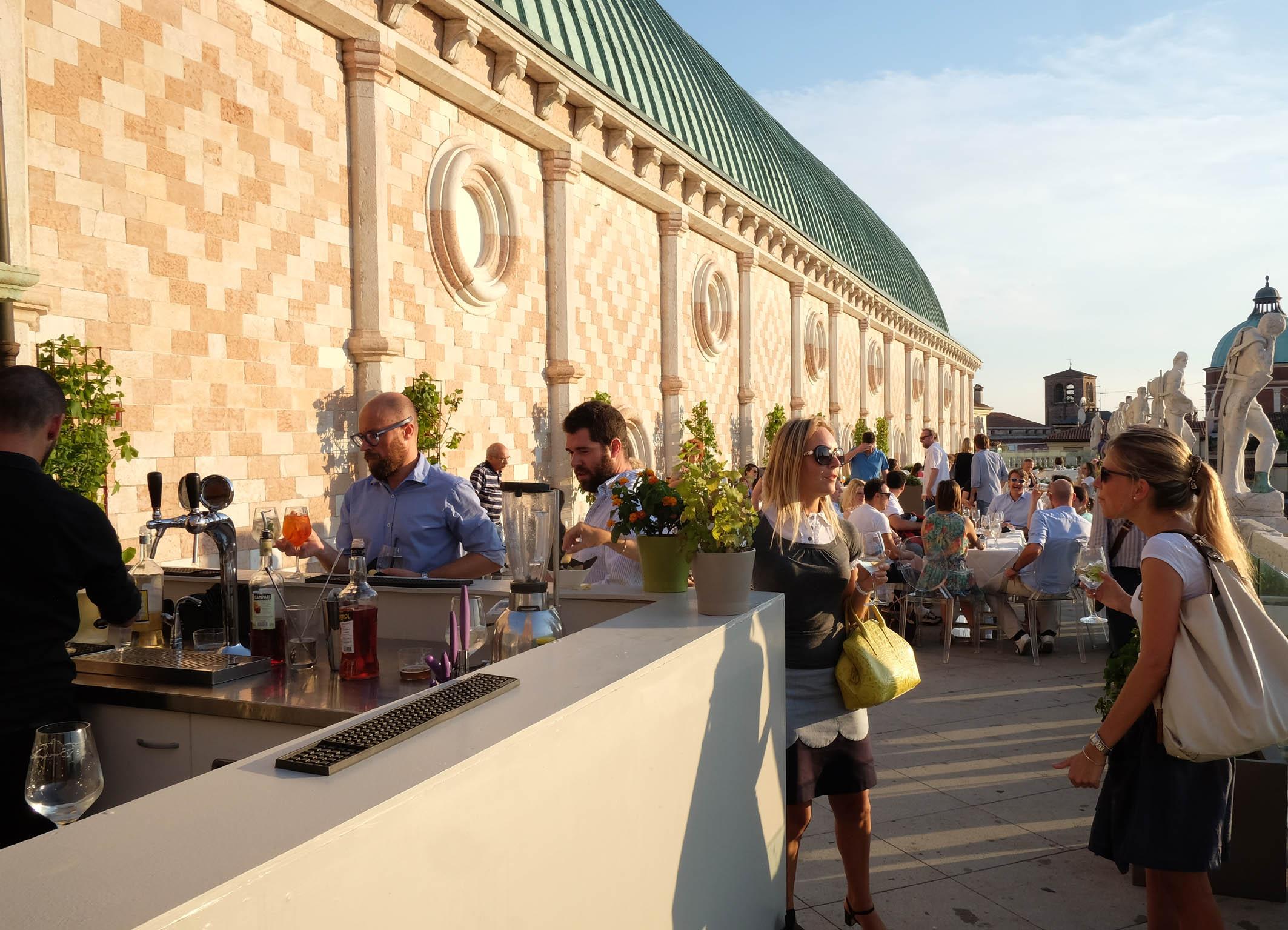 Musica sulla terrazza della Basilica palladiana nel fine settimana ...