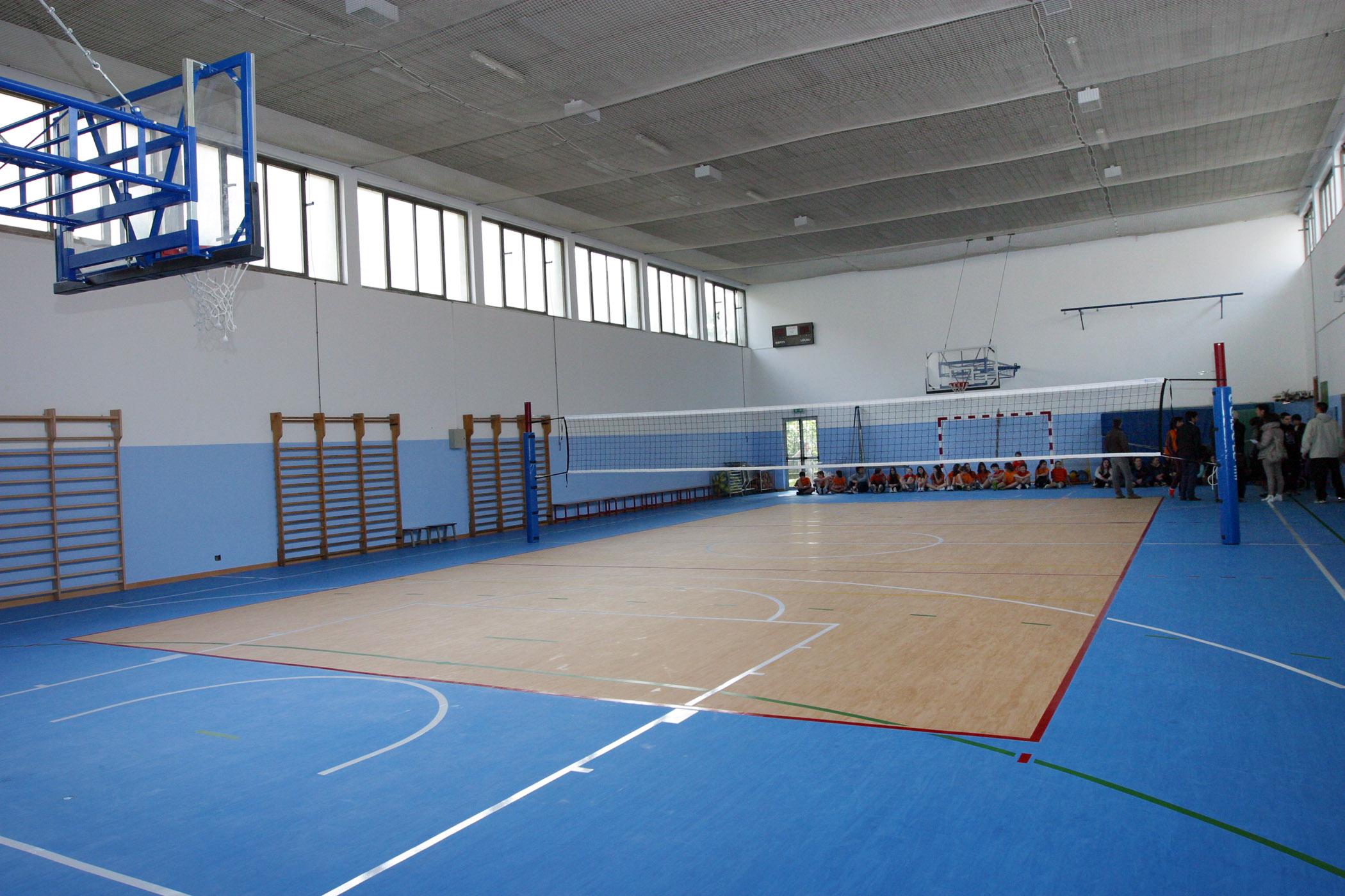 Palestra rinnovata alla scuola secondaria di primo grado g g trissino comune di vicenza - Palestre con piscina torino ...