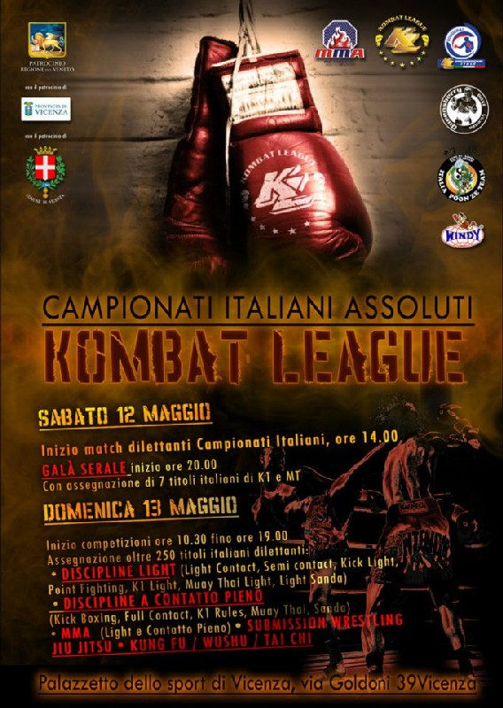 Campionati italiani assoluti Kombat League