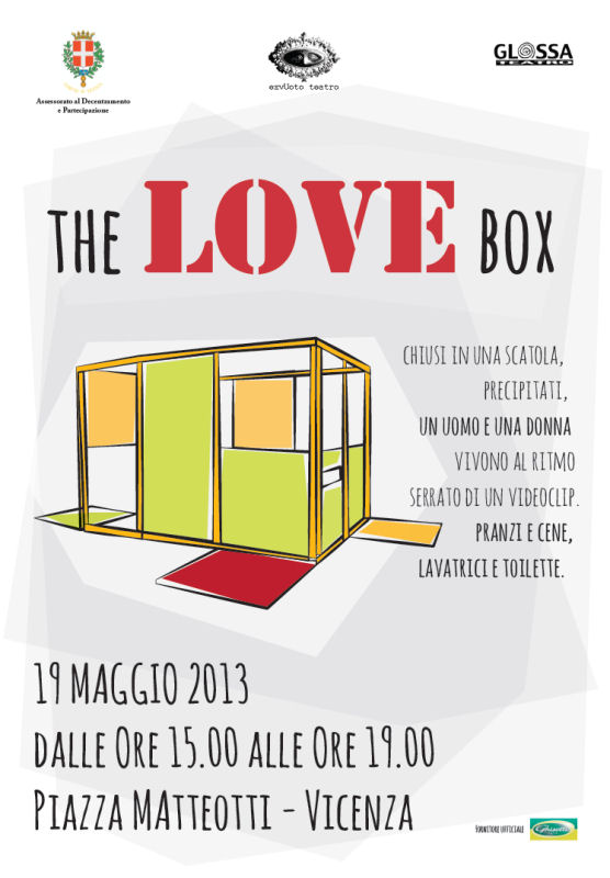 The love box (F.e.d.r.a.), in scena l'amore e la sua insensatezza