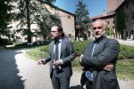 Da sinistra: vicesindaco Jacopo Bulgarini d'Elci e Direttore Generale Antonio Bortoli