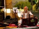 Guru Carana prabhu (devoto Hare Krishna del Tempio Prabhupada Desh di Albettone)