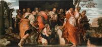 Paolo Caliari detto Veronese, L'Unzione di David (1555 ca.), Vienna, Kunsthistorisches Museum