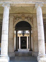 Vista di Palazzo Trissino da Corso Andrea Palladio